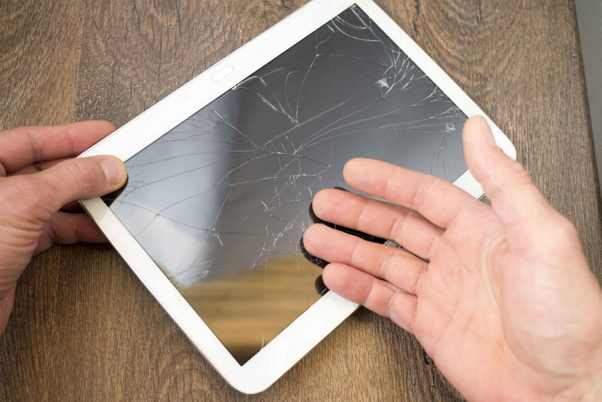 Tablet Cracked Screen