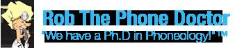 Rob The Phone Doctor Logo