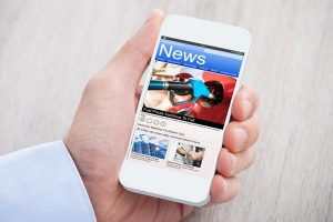 News App for Cell Phone